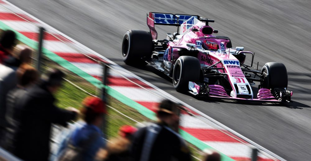 Force India hoopt hun vierde plek vast te houden