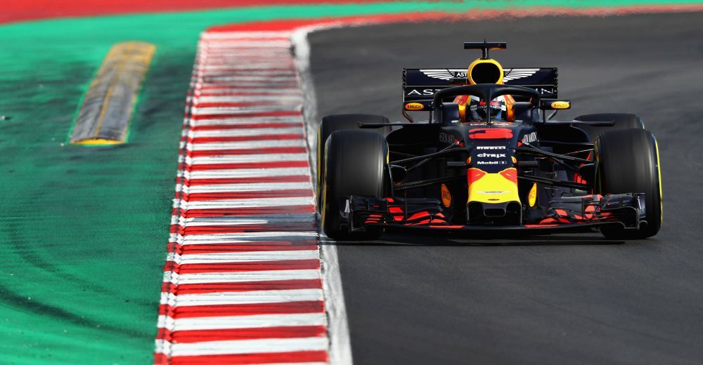 Red Bull and Daniel Ricciardo kept a low profile today, only logging 90 laps. Problems or planning?