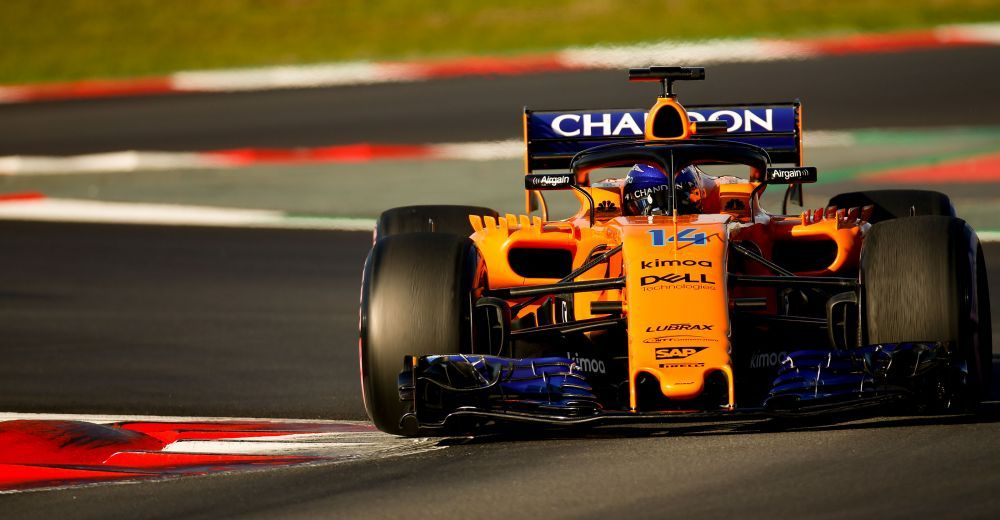 Alonso's McLaren broke down again, but then set the 2nd best time