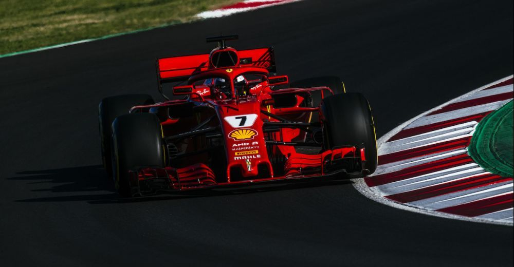 Kimi Raikkonen had the best time of the day (1:17.221), but Ferrari insist they lack pace