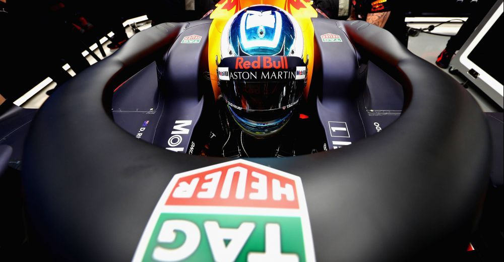 Daniel Ricciardo ready to go in his RB14