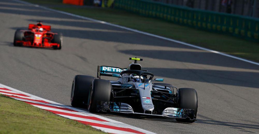 Bottas komt voor Vettel