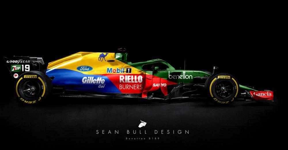 Benetton B189 (1989)