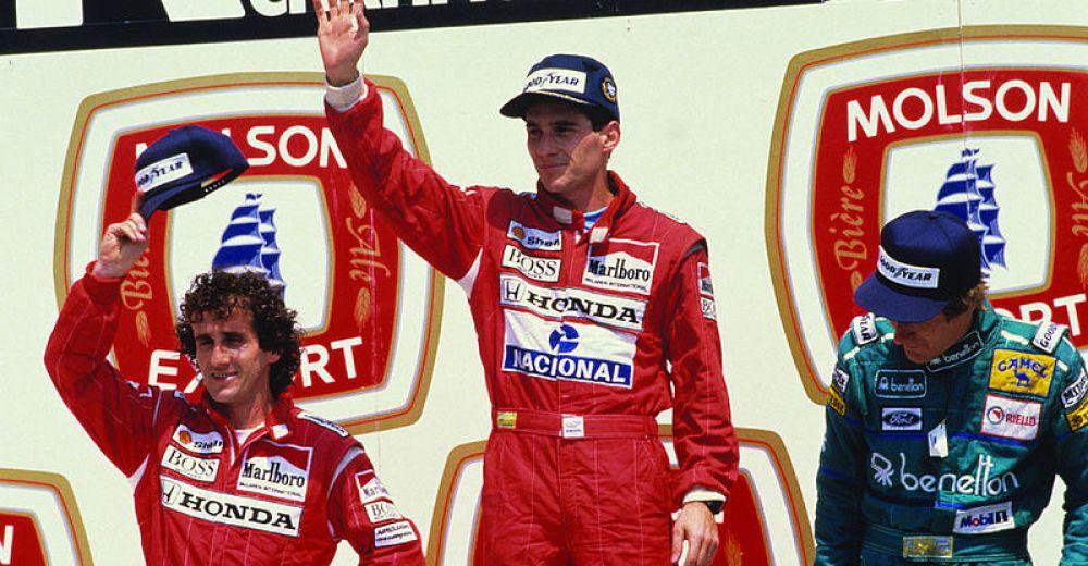 P1 - Alain Prost vs Ayrton Senna