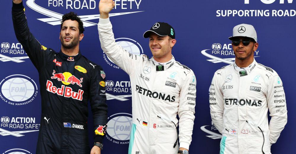 P3 - Nico Rosberg vs Lewis Hamilton