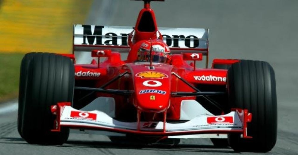 P2: Michael Schumacher