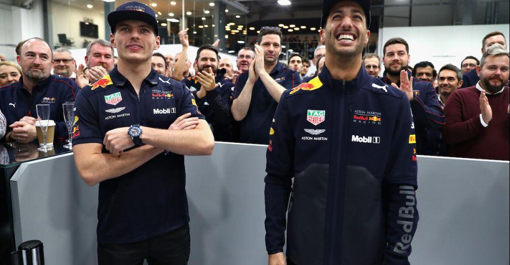 Red Bull Racing doet dit jaarlijks voor de kerstperiode