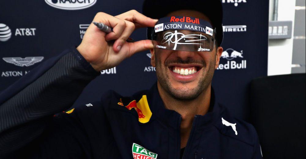 Daniel vierde na de Grand Prix van Abu Dhabi zijn vertrek in Milton Keynes