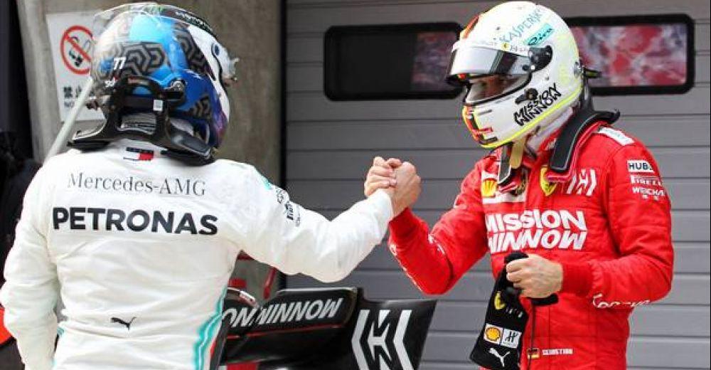 Valtteri & Vettel