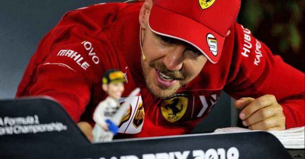 Vettel playing around