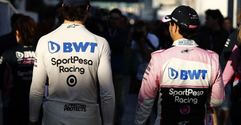 Een dubbele puntenfinish voor Racing Point