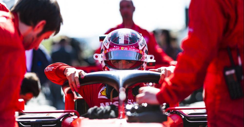 Leclerc is gefocust voor de race