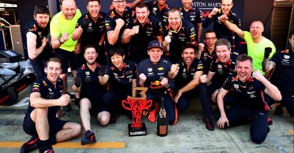 Verstappen en het team dolblij met P3