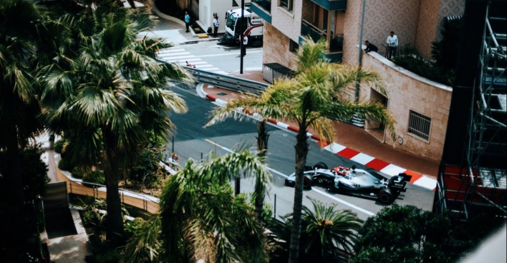 Vanaf je balkon F1 kijken
