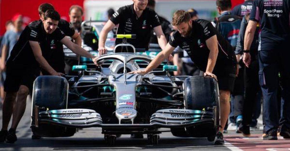 Mercedes preparation well underway