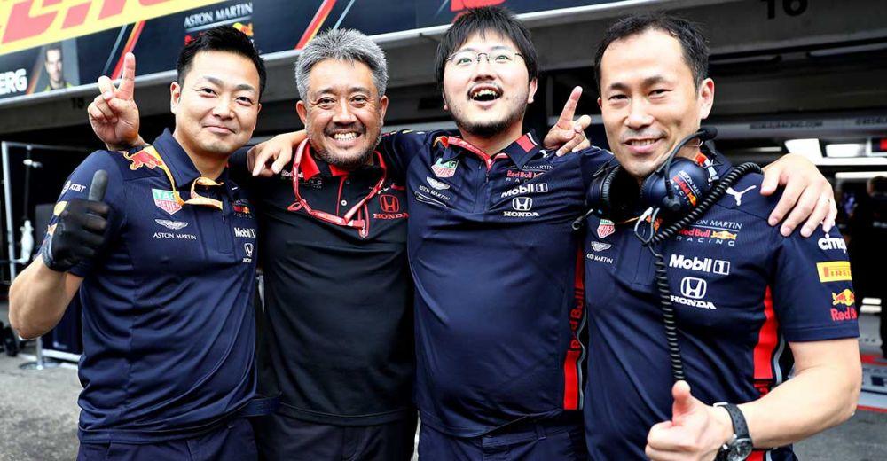 Bij Honda zijn ze buitengewoon blij!