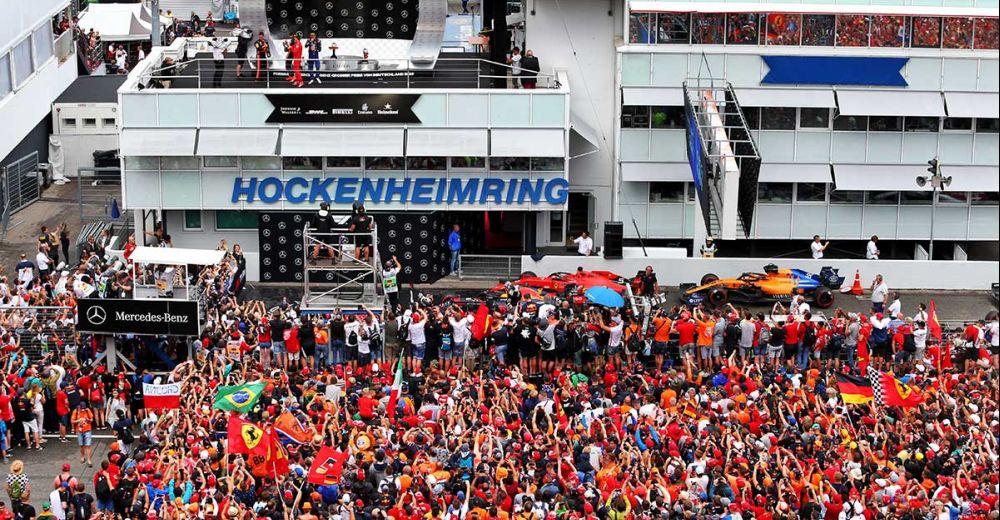 De Nederlandse fans gaat hun uit dak!