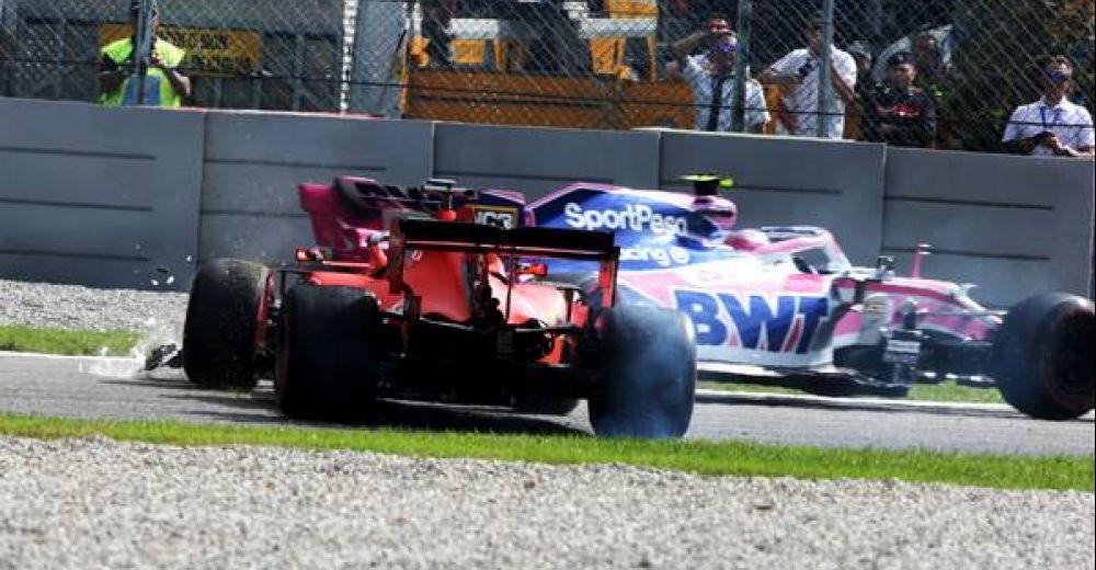 Vettel spint!