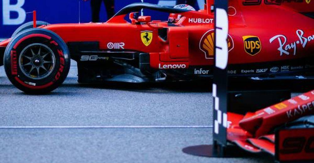1st and 3rd for Ferrari