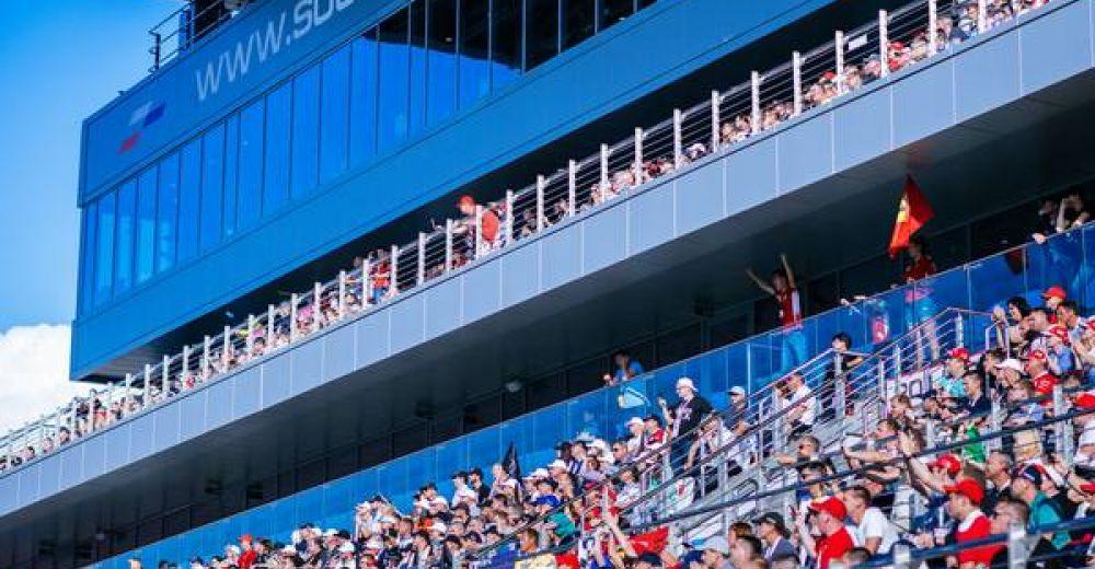 Lots of fans in Russia
