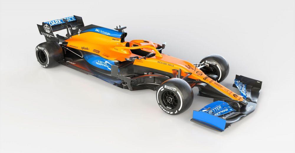 McLaren prestenteert de MCL35