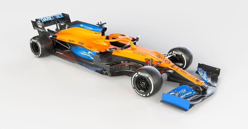Lando Norris' MCL35 (McLaren media centre)