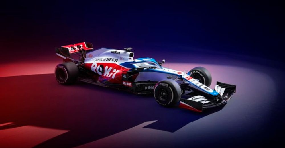 Williams unveil their 2020 challenger (Source: Rokit Williams Racing Twitter)