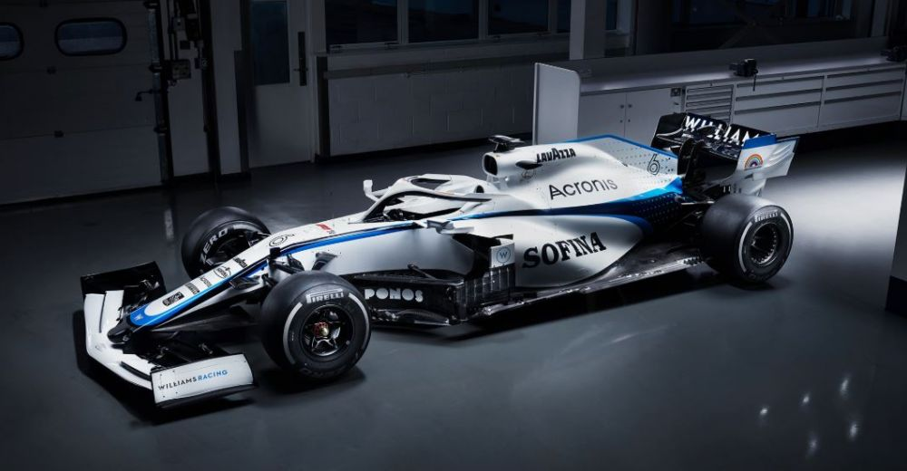 Much more white for Williams