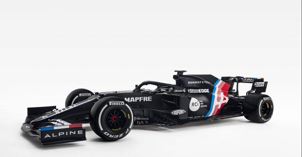 Alpine F1 Team presenteert de nieuwe Formule 1-livery
