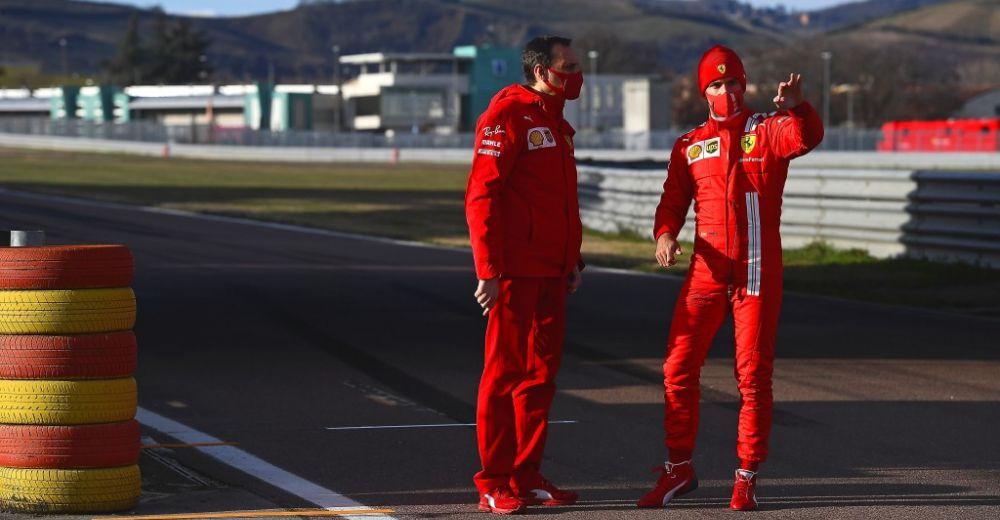 Sainz mag voor het eerst testen met Ferrari