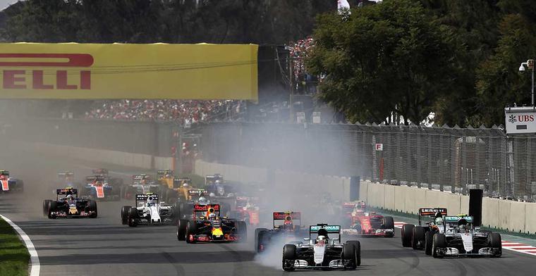 De definitieve Formule 1 kalender van 2017
