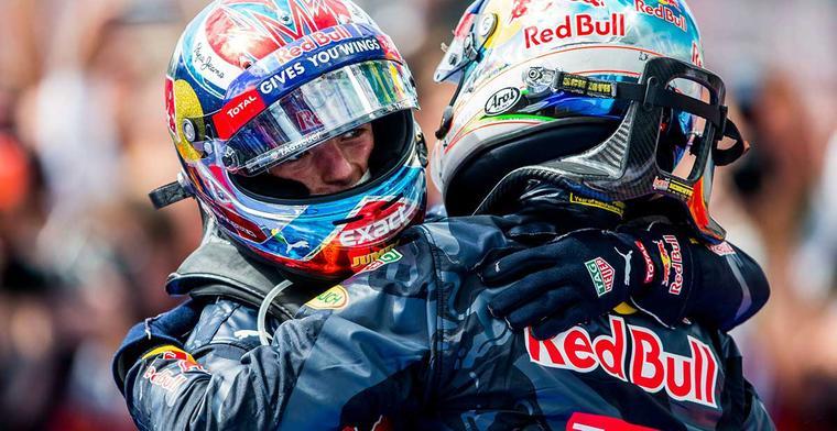 Ricciardo over Verstappen: Hij heeft ons allemaal geïnspireerd