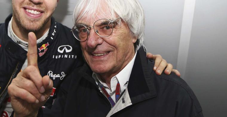 Bernie Ecclestone maakt plannen voor Formule 1 concurrent!