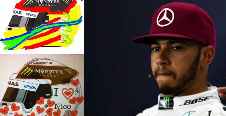 De meest bizarre ontwerpen voor de Hamilton helm wedstrijd!