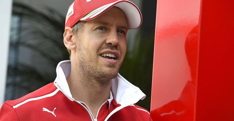 Vettel: Ik heb van alles geprobeerd om Verstappen te passeren