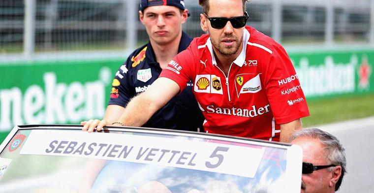 Vettel: Max bewoog tijdens het remmen!