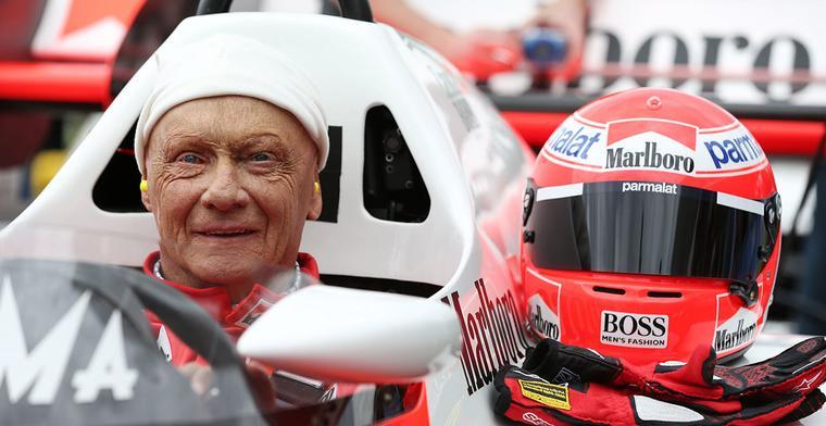 Lauda: 'Mijn hart ligt nog steeds bij Ferrari'
