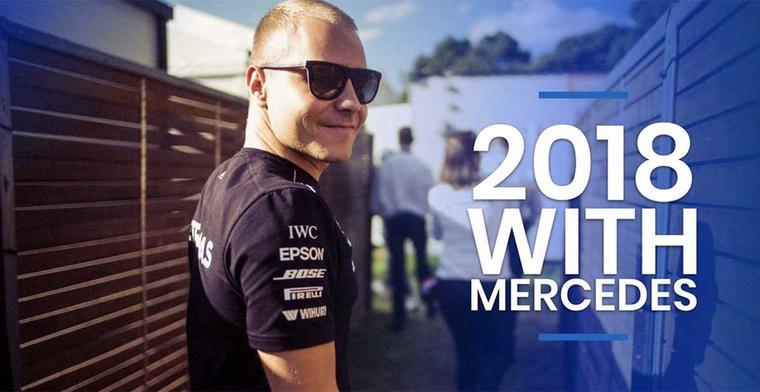 Breaking: Bottas verlengt contract bij Mercedes voor een extra jaar!