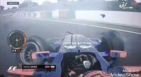 Afbeelding: Video: Sainz crasht hard in VT1 Japan