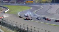 Afbeelding: Video: MEGA crash bij start Formule Renault race in Barcelona!