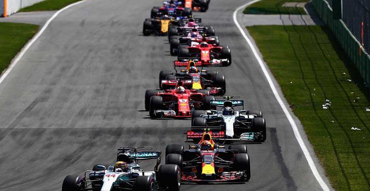 Officieel: De Formule 1 kalender van 2018