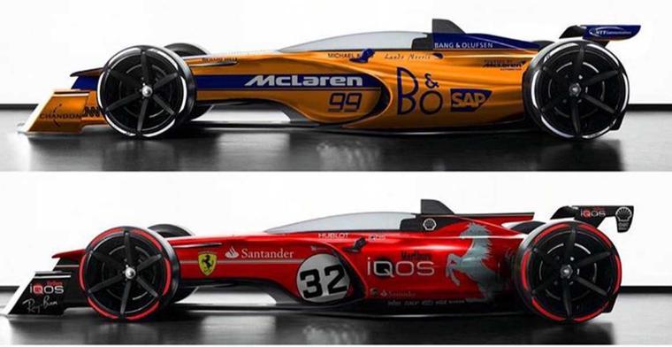 De nieuwe Formule 1 wagens worden ''sensationeel''