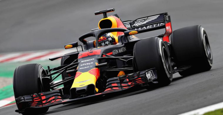 Red Bull mist 35PK op Mercedes in de race-modus