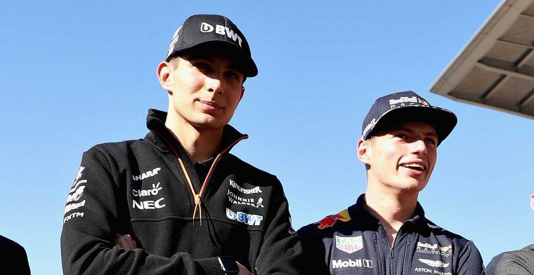 Verstappen over Senna-Prost achtig duel met Ocon: Maakt mij niet echt uit