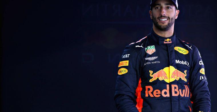 """Ricciardo: """"Door de F1 races kan ik makkelijker met de contractsituatie omgaan"""""""