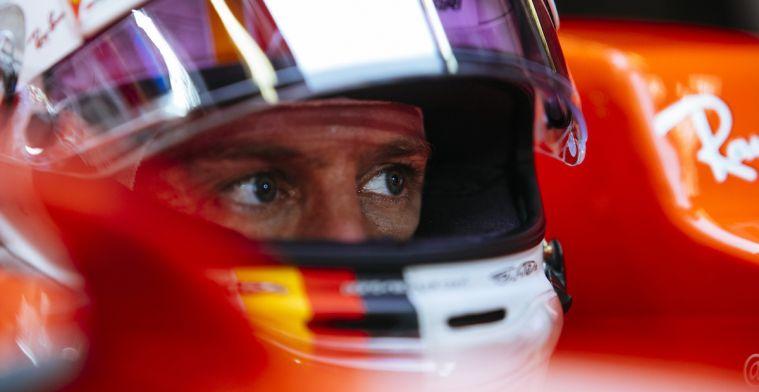 Vettel: ''Ik haal erg veel plezier uit grasmaaien''