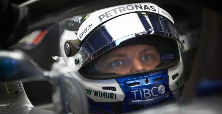 Bottas stapt in schoenen van Rosberg