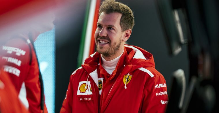 Vettel legt uit wat er mis is aan de long-runs van Mercedes en Red Bull