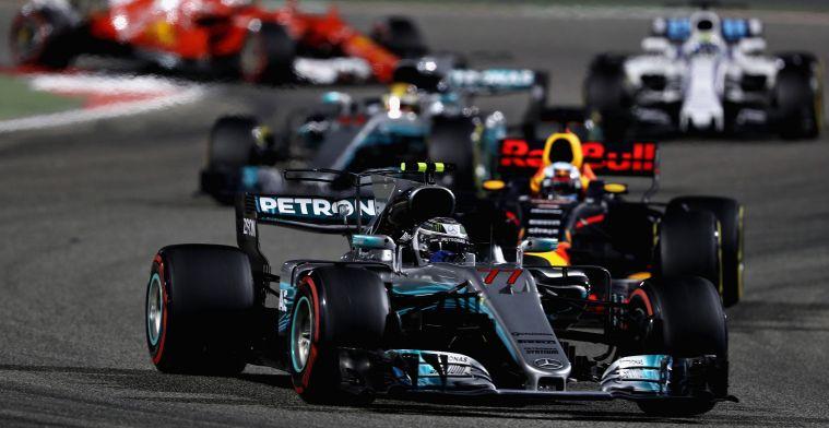 Red Bull achter Ferrari en Mercedes in racesimulatie