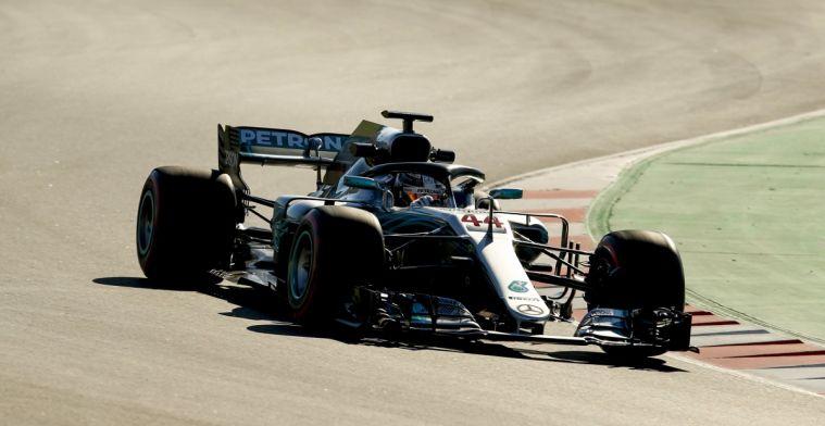 Mercedes opent de aanval met bandenkeuze Australië